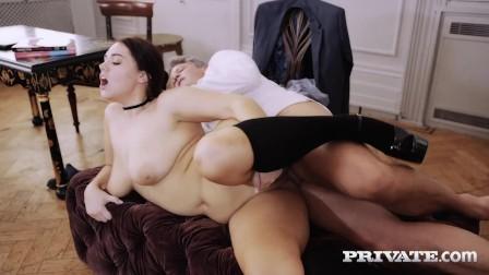 PRIVATE com - Curvy SchoolGirl Effie Diaz Pussy Fucked By Perverted Teacher