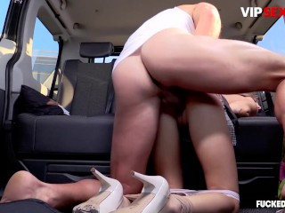 FuckedInTraffic – Gina Gerson Gorgeous Russian Blonde Hardcore Pussy Fuck In The Backseat