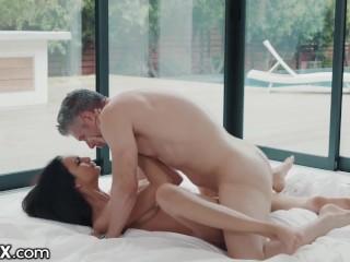 Beautiful Eliza Ibarra Sensual Affair With Boss Mick Blue