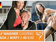 Casting fuck for naughty mature DaCada! WOLF WAGNER CASTING