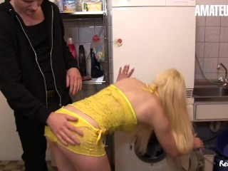 ReifeSwinger – Big Dick German Guy Hardcore Threesome Sex With Hot Girlfriend And Her Horny Step Mother