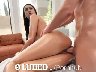 LUBED Eliza Ibarra Lets Big Dick Slide Inside