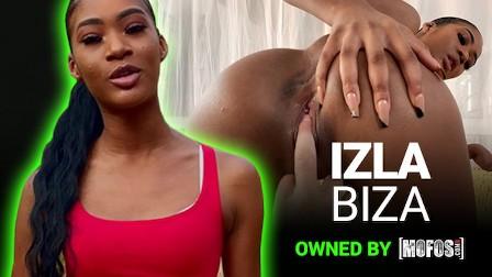 Mofos - Amateur black teen Osla Biza fucks to save the planet