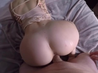 Getting fucked in my new lingerie