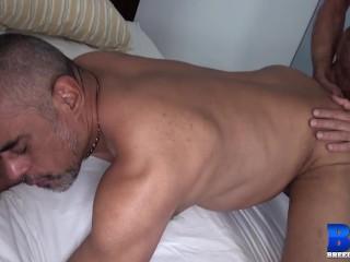 Old Gay Men Bareback After Deepthroat