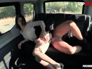 FuckedInTraffic – Aralyn Horny Czech Slut Hardcore Pussy Fuck In The Backseat