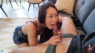 Ayako Fuji – Japanese Girl Making Her First Sex Video with her Spanish Roomate (AF_003)