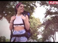 HornyHostel - Sexy Spanish Teen Hardcore Pussy Fuck With Hotel Staff - LETSDOEIT