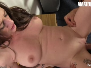 ReifeSwinger – Oxana & Adrienne Kiss Amateur German MILFs Share Big Cock In Intense Threeway