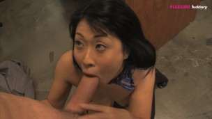 ASIAN SCHOOL GIRL FUCK HARD COCK AFTER LESSON