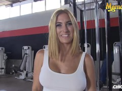 ChicasLoca - Valeria Blue Gorgeous Spanish Porn Star Gets Her Tight Pussy Banged Hard At The Gym