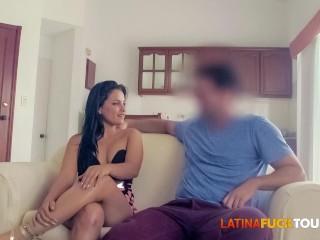 Curvy Latina Babe Wants a Hard Fucking