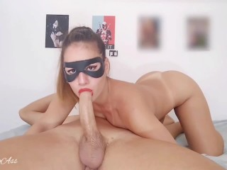 Cowboy girl , anal gape, deep throat extreme and creampie!!! -aprilbigass-