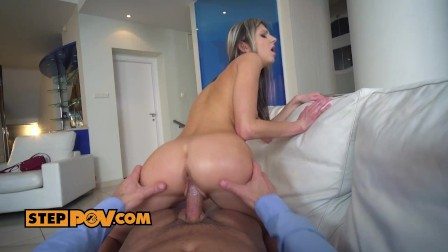 Gina Gerson loves her new step daddy