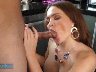 Reality Junkies – Curvaceous Krissy Lynn Sucks Her Plumber Jon Rogue's Cock While Her Husband's Away
