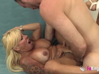 He finally fucks the pornstar he's always wanted to bang