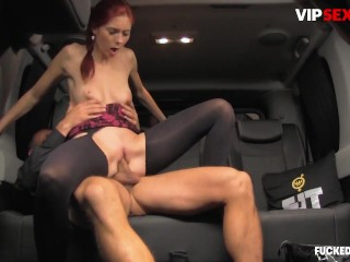 FuckedInTraffic – Kattie Gold Horny Czech Babe Hardcore Pussy Fuck With Kinky Driver