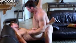 Blonde Teen Wrecked By Big Dick Bodybuilder