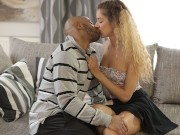 BLACK4K Girl does everything black guy wants and even allows him to fuck pussy