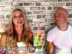 DigitalPlayground - Zac Wild Rips Off Aidra Fox's Yoga Pants & Fucks Her When He Sees Her Big Ass