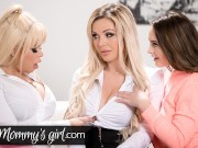 Lesbian Step-Family Fuck The Real Estate Agent