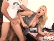 Big Tits CEO Donna Bell Banged By The Cleaner