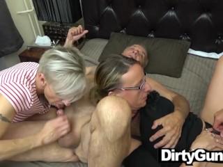 Grandpa's Horny Secretaries