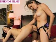 Eliza Ibarra Massaged & Fucked With Strapon - GirlfriendsFilms