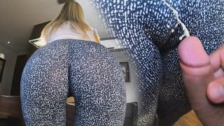 Cum on leggins