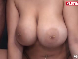 HornyHostel – Angel Wicky Voluptuous Czech Slut Sucks And Fucks Two Horny Strangers – LETSDOEIT