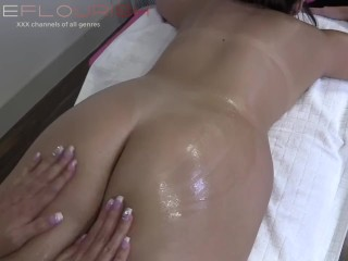 Erotic Massage And Big Dildo Hard Sex Of Piper And Busty Milf