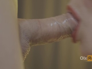 MADE A SLOBY BLOWJOB FOR HIM AND HE CUMSHOT IN MY MOUTH