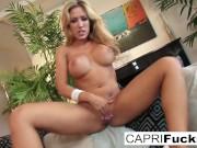 Capri Cavanni Plays With Her Pussy