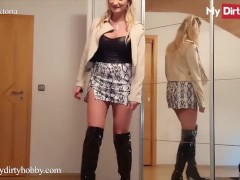 MyDirtyHobby - Blind Date For Vika Viktoria Takes A Turn To A Nice Ass Fucking & Creampie
