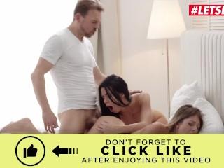 WhiteBoxxx – Big Dick Boyfriend Joins Lesbian Lovers For Steamy Threesome