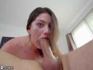 Alyx Star Loves Blowing Hard Cock