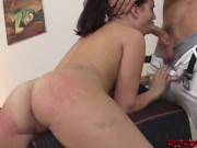 It's Ass slapping and Doggystyle for Luscious Bubble Butt Lindsay