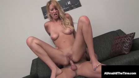 Itty Bitty Addison O Riley Gets That Pretty Butt Rimmed And Fucked! Oh Boy!