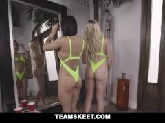 Delicious Chicks In Bikini Fucked Compilation