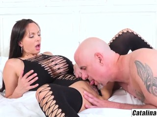 Catalina Cruz – My new tits love a strong pounding from hubby