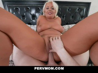 Busty Mature Therapist London Rose Gives Stepson A Lesson About Women