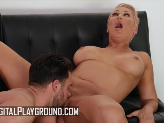DigitalPlayground – Curvy Mom Ryan Keely Makes Out With Another Man Behind Her Husband's Back