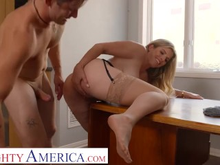 Naughty America – Cory Chase loves pleasing her student's cock
