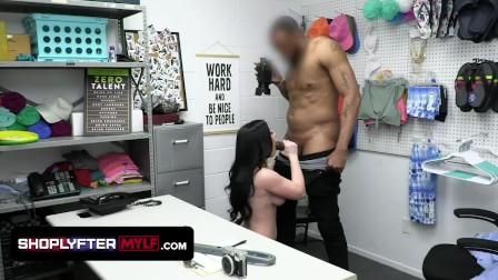 ShoplyfterMylf - Busty brunette gets the Security Guard