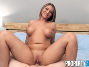 PropertySex Busty Agent with Natural Tits Bangs Client at Open House Showing
