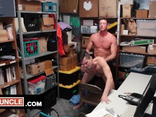 Handsome Theft Alex Chandler Caught Stealing And Fucked In The Backroom