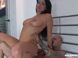 Busty MILF handles cock like a pro