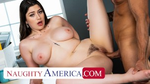 Naughty America - Alyx Star uses her best assets to get what she wants!