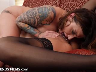 Hot Stripper Fucks Curvy Lesbian Strip Club Owner – GirlfriendsFilms