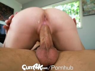 CUM4K Sexy Blonde Fucks To Keep Her Apartment